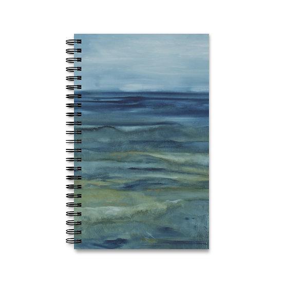 """Spiral Journal - Ocean Art - """"Deep Calls to Deep"""""""