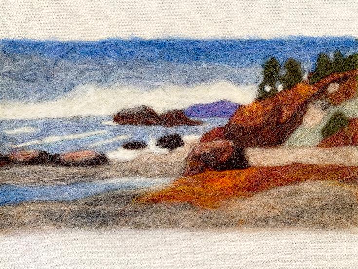 Needle Felting Kit - Moonstone Beach