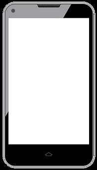 Phone displaying GPS tracking app