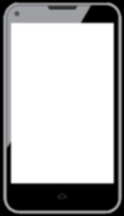 Grandes lignes de téléphone intelligent