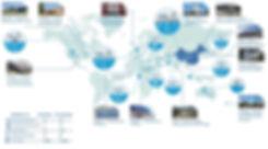 Карта объектов компании Haier