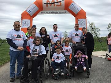 2017 Walk MS Team