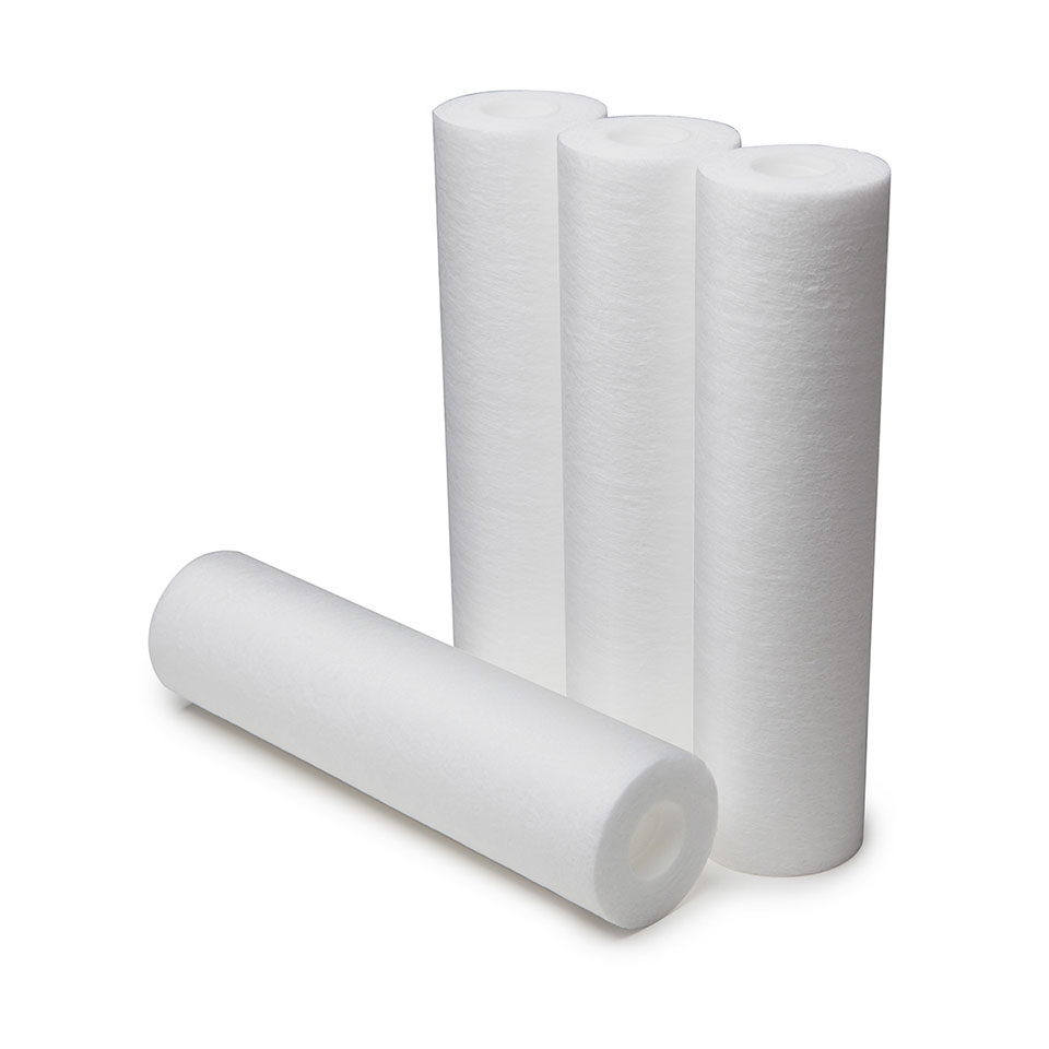 "4-PACK 10"" WH PRE-FILTER CARTRIDGES"