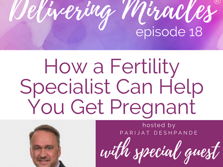 018: The Truth About Fertility Specialists, Who Needs to See One and When With Dr. Daniel Potter
