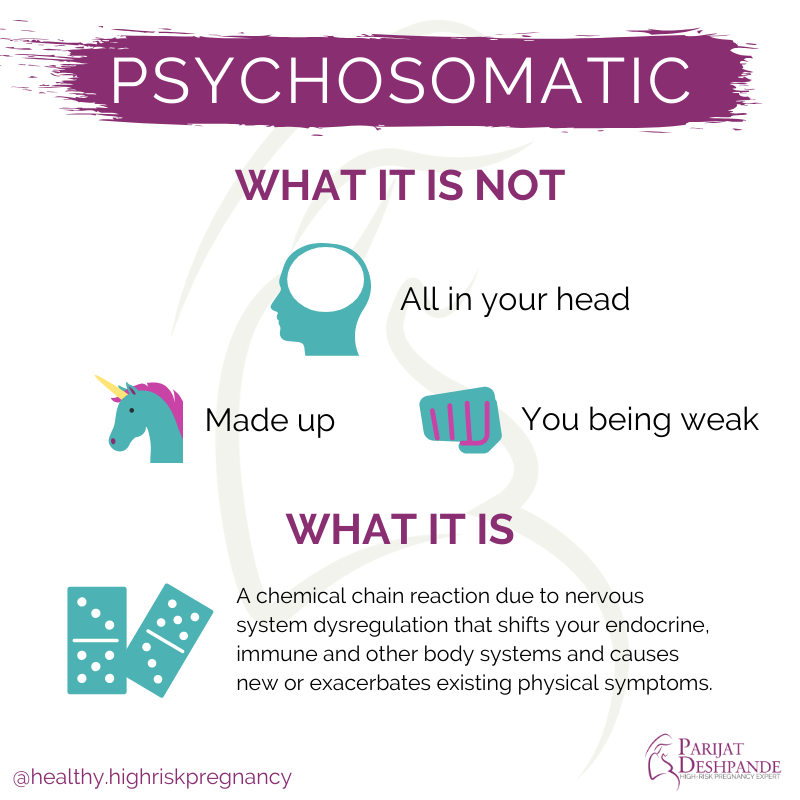 psychosomatic infographic