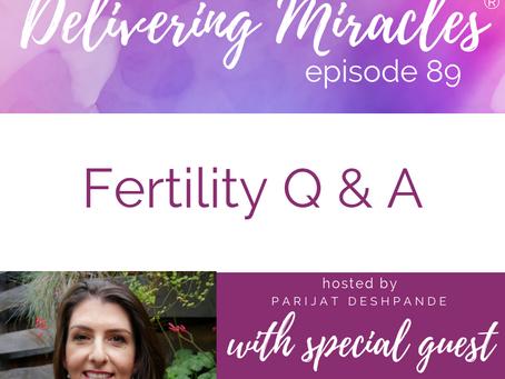089: Fertility Q & A with Dr. Aimee