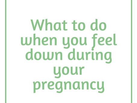 Navigating Your High Risk Pregnancy: What to Do When You're Feeling Down