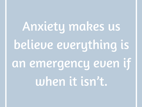 Quieting Your Anxious Mind