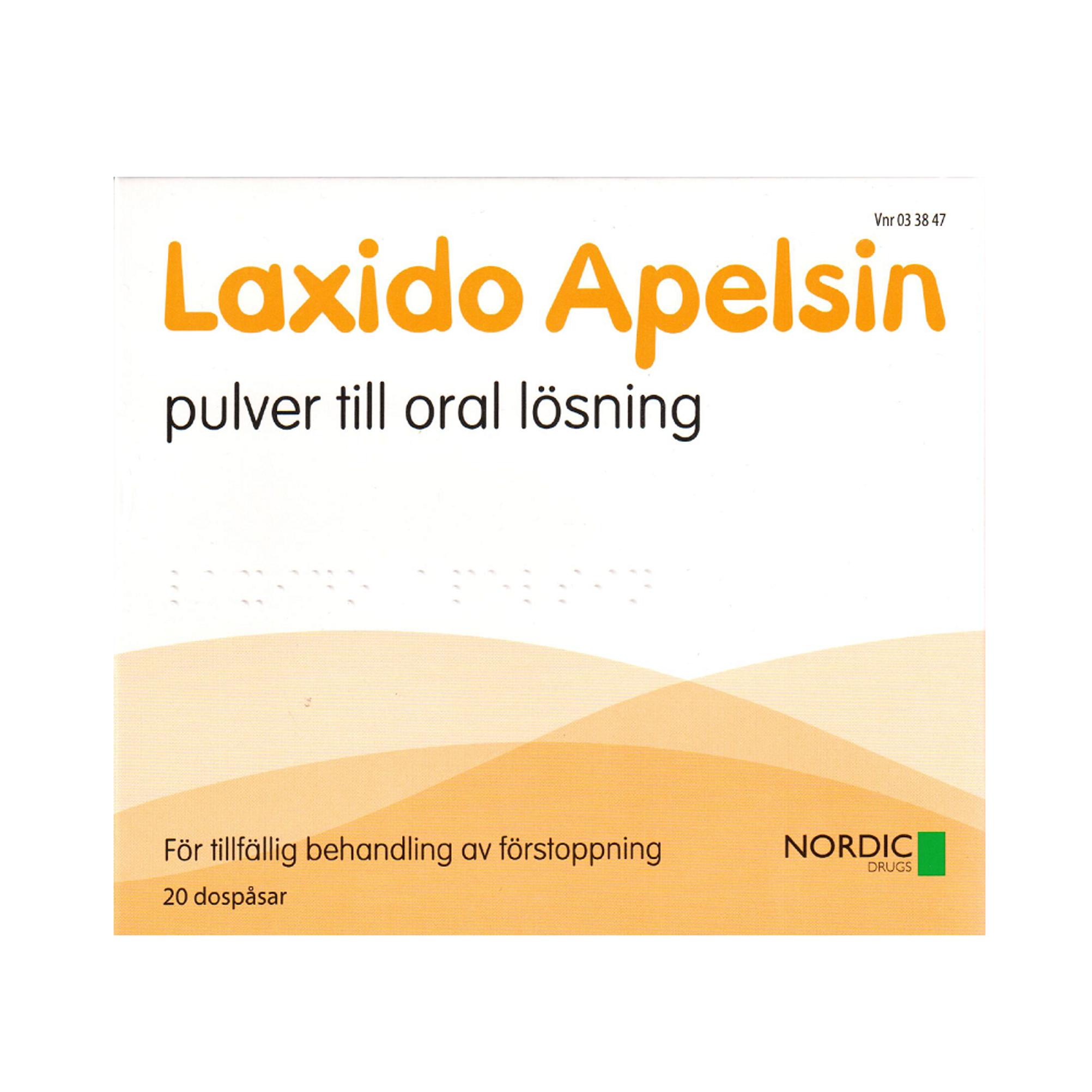 laxido apelsin pulver till oral lösning