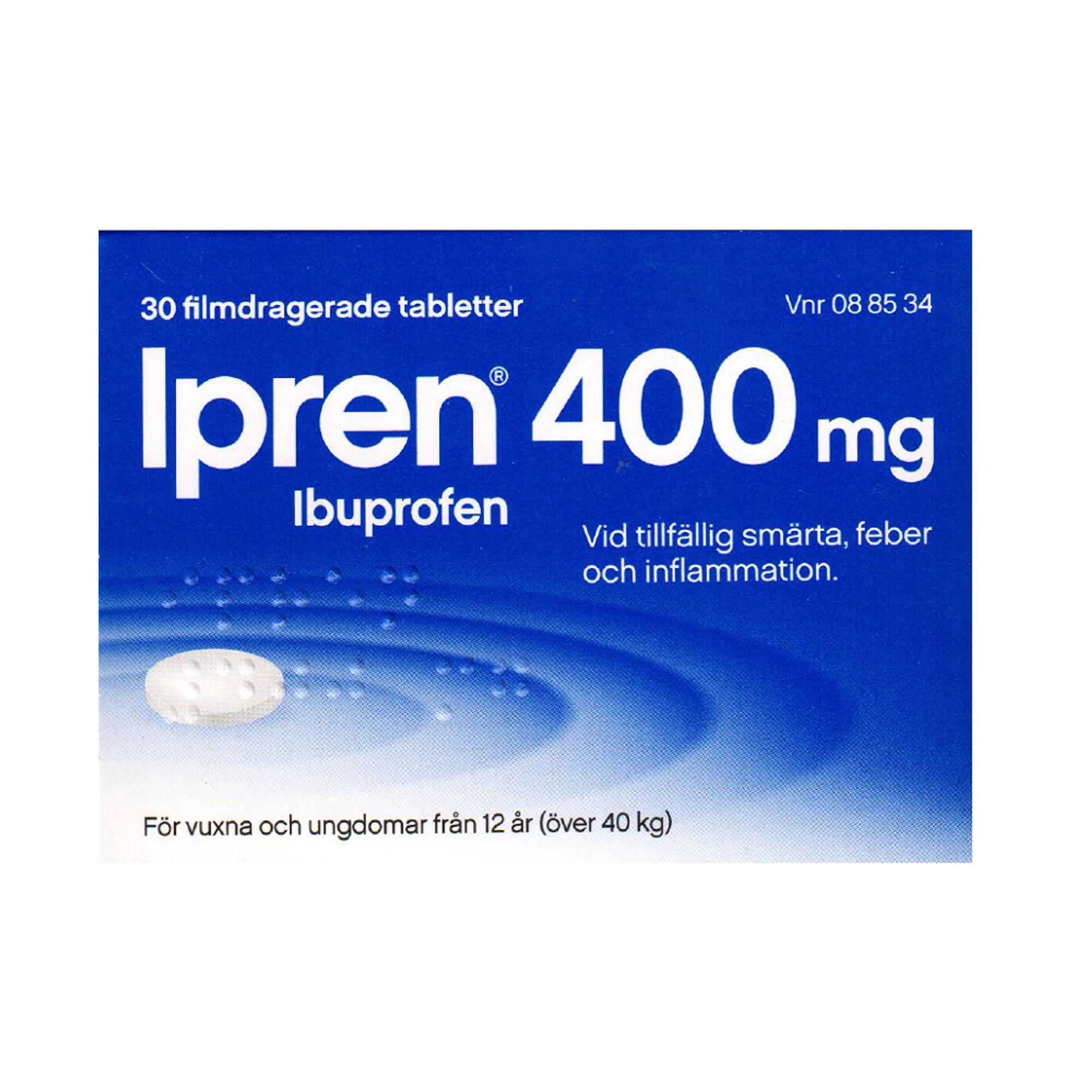 ipren dosering vid inflammation