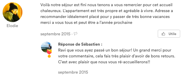 Commentaire d'Elodie