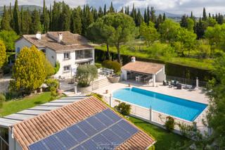 Drone - Villa Chateauneuf-Grasse