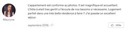 Commentaire de Maurine