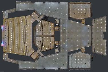 Image du plan de plafond réfléchi Matterport Explore En 3D Alpes Maritimes Var Monaco