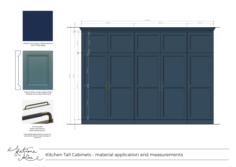 Larder Cupboard Fronts