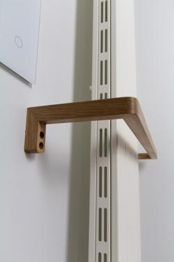 Bespoke towel rails on radiator