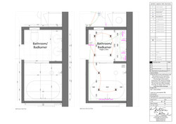 Bathroom Architectural Drawing
