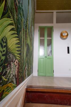 Reconditioned antique doors