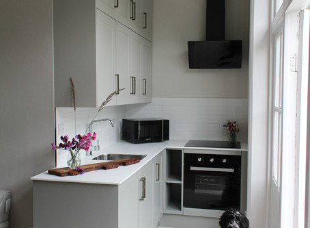 A Budget Friendly Kitchen Makeover