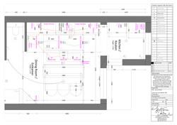 Kitchen Architectural Plan