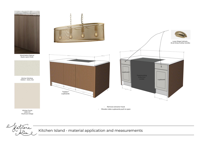 Kitchen Island Concept