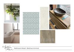Bathroom Materials and Mood Board