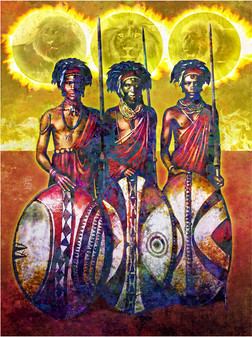 Suns of the Masai, 2014