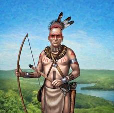 Chief Waramaug, 2019 - museum portrait commission