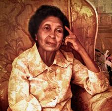 Blanche Bruce, 2019 -  portrait commission