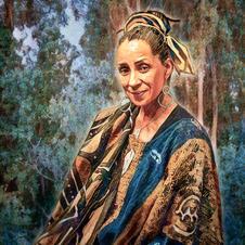 Dafina Kuficha, 2017 - portrait commission