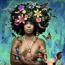 Gaia, 2012 fantasy portrait commission