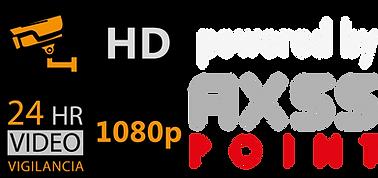 Video Vigilancia HD AXSS POINT