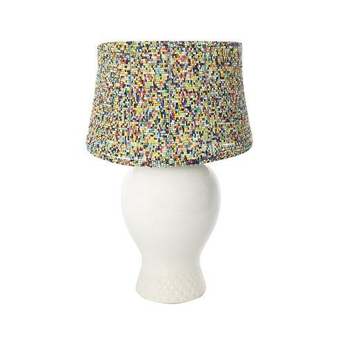 Rainbow Bead Lampshade