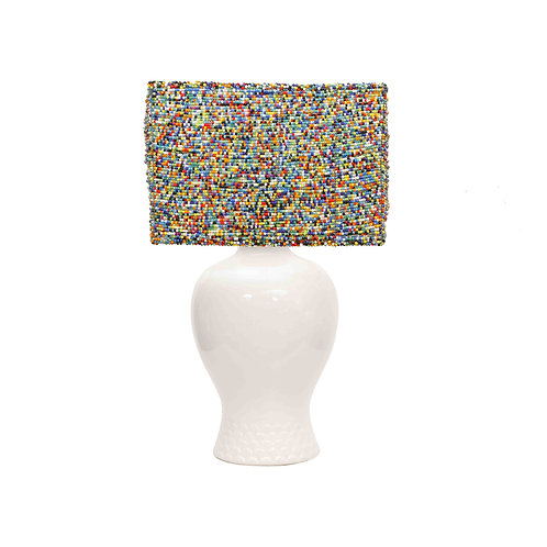 Rainbow Bead Lampshade