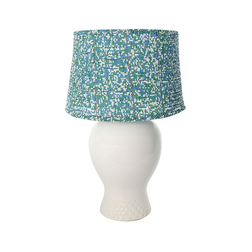 Luhlaza beaded lampshade