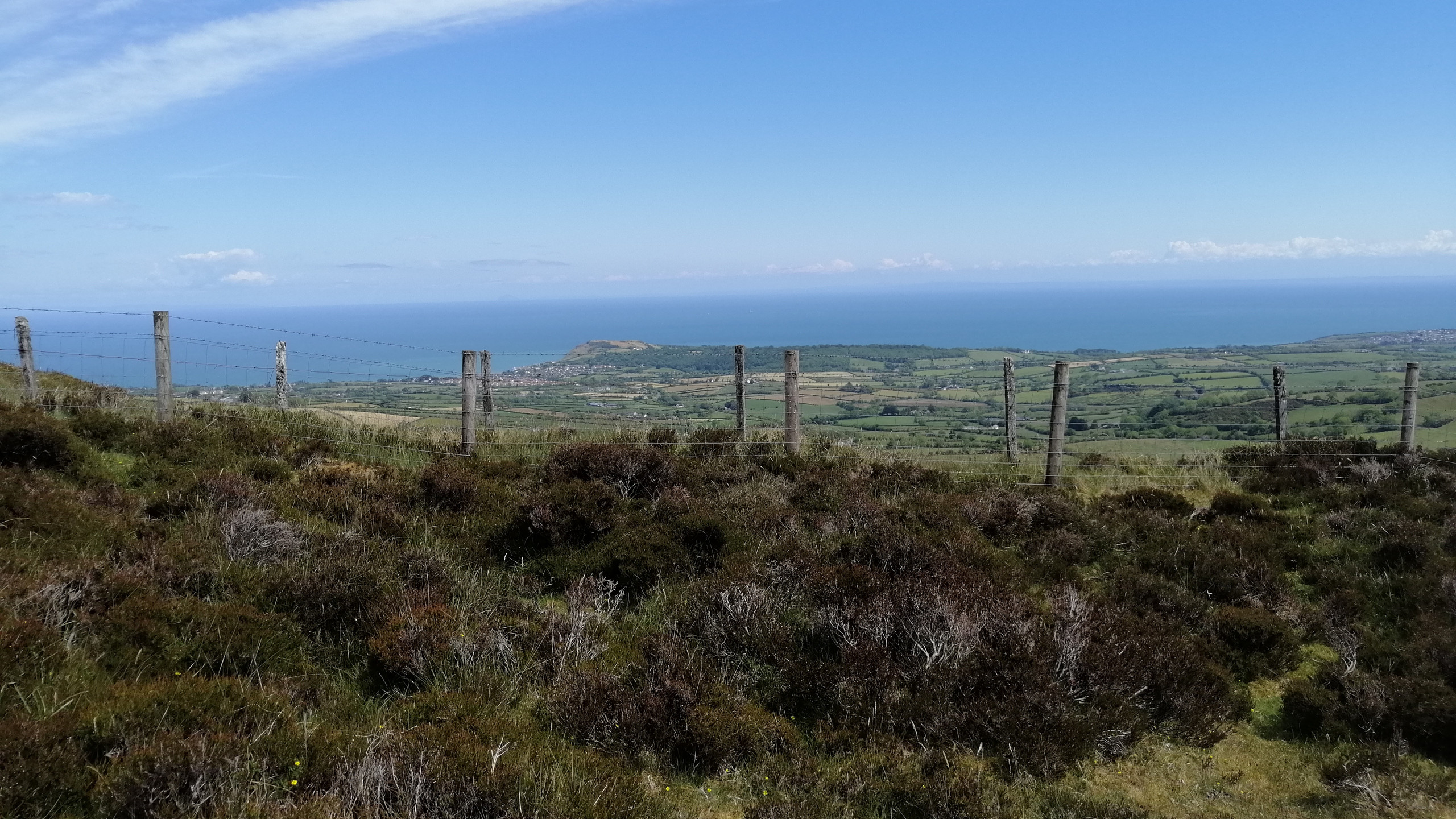 View of Larne from Sallagh