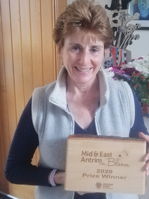 Dee Delighted to Win the Mid & East Antrim Gardening for Wildlife Award 2020!