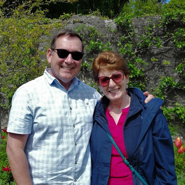 Johnny & Dee Glenarm Castle Gardens