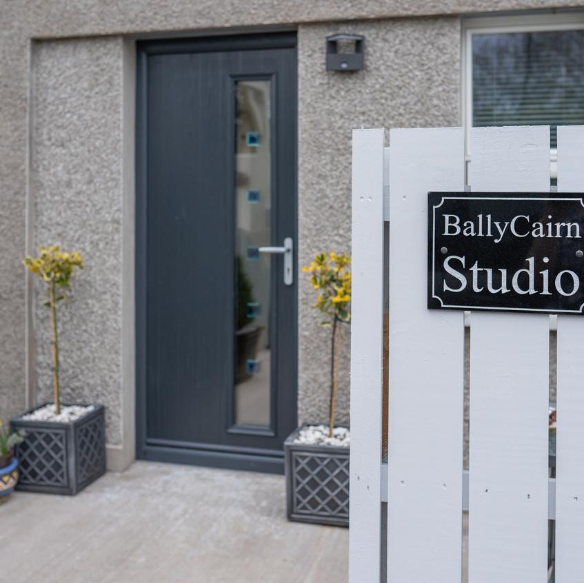 Entrance to BallyCairn Studio