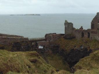 Spectacular Dunluce Castle