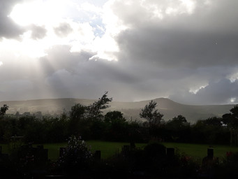 Scawt Hill at Sunset from BallyCairn!