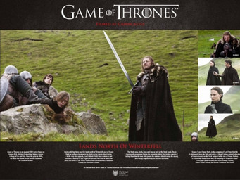 Game of Thrones® Attractions Close to BallyCairn House B & B and The Barn @ BallyCairn Self-Cate