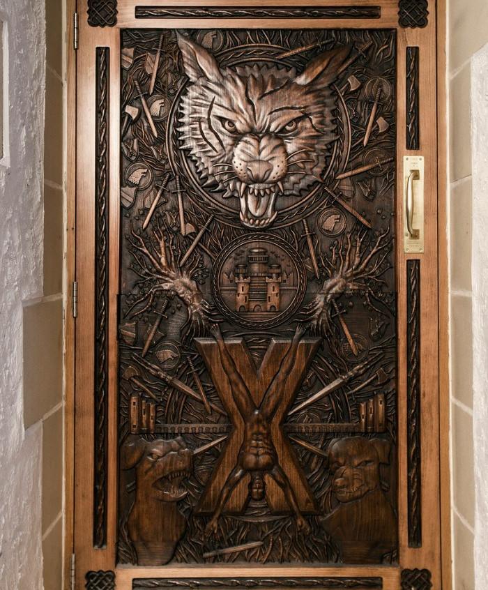 GoT Door Ballygally Castle2