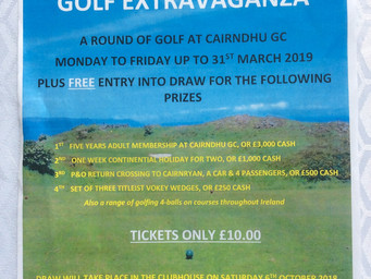 Check in to BallyCairn to Check Out Cairndhu's Fantastic Golf Offer!
