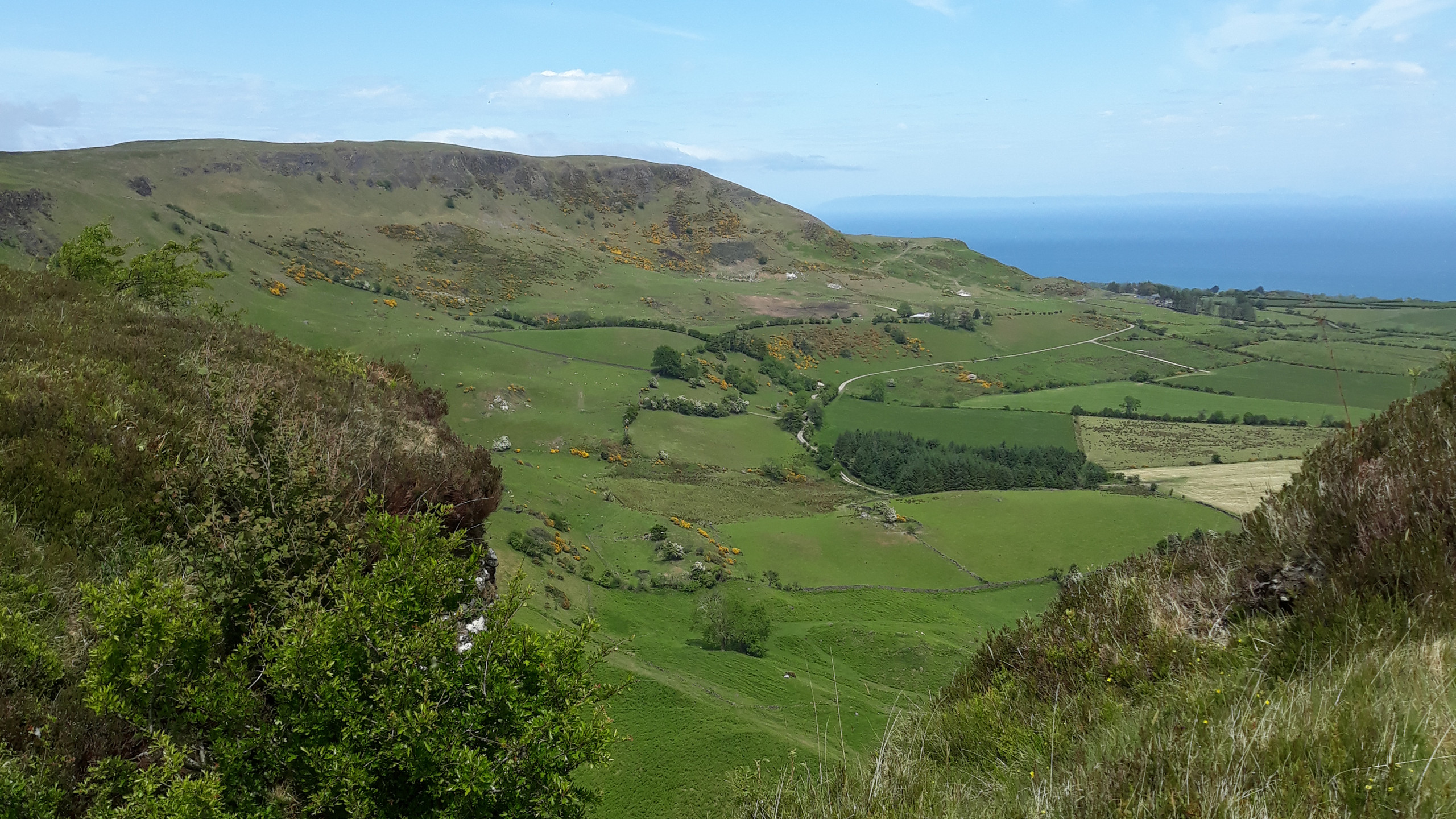 View from Sallagh Hill
