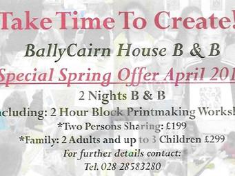 Special Spring Offer April 2017