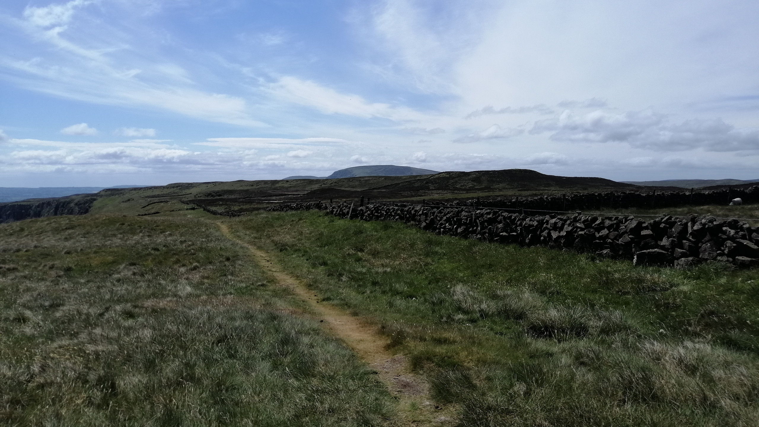 Ulster Way Trail over Sallagh