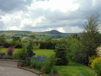 Scawt Hill from BallyCairn Garden