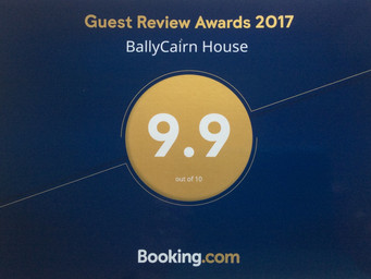 So proud of the Booking.com Guest Review Award 2017!
