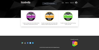 ivo.studio homepage